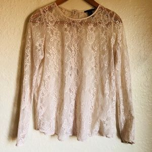 Forever 21 Lacey Shirt- Medium